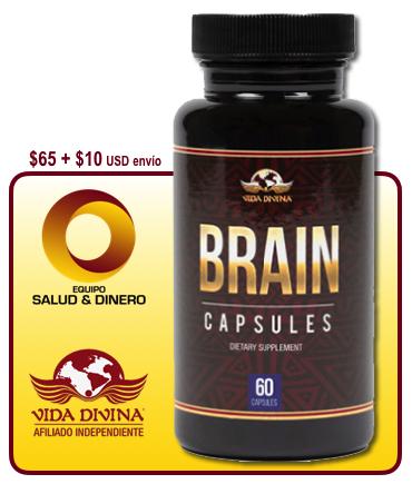 Brain - Suplemento para salud y bienestar - Vida Divina