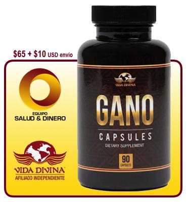 Gano - Hongo Ganoderma - Suplemento con hongo ganoderma para salud y bienestar - Vida Divina