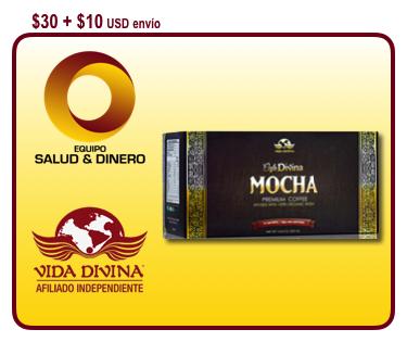 Mocha - Café Divina - Bebida con hongo ganoderma - Vida Divina