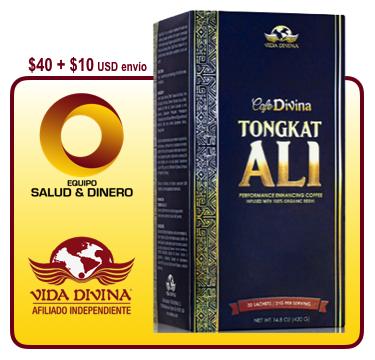 Tongkat Ali - Bebida con ingredientes para hombres que ayuda a incrementar la potencia sexual o regular los ciclos hormonales para las mujeres - Vida Divina
