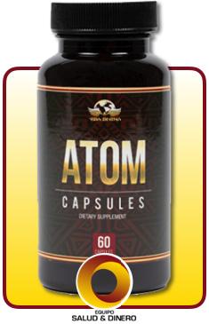 Atom - Suplemento para perder peso y energía - Vida Divina