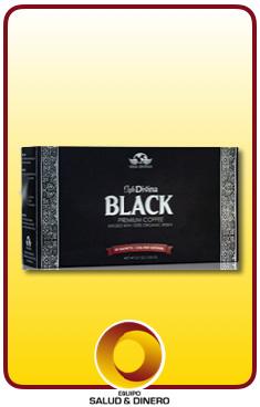 Black - Café negro reforzado con hongo ganoderma - Vida Divina