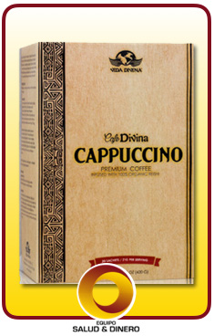 Cappuccino - Café capuccino instantaneo con hongo ganoderma - Vida Divina