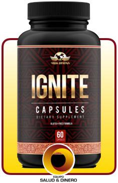 Ignite - Suplemento para bajar de peso con hongo ganoderma - Vida Divina