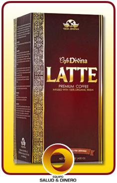 Latte - Café latte instantaneo con hongo ganoderma - Vida Divina