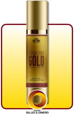 Liquid gold - aceite natural para hidratar la piel - Vida Divina