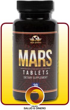 Mars - Suplemento para hombres que ayuda a incrementar la potencia sexual - Vida Divina