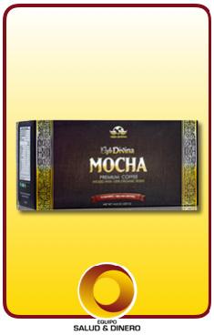 Mocha - bebida de café mocha instantanea con hongo ganoderma - Vida Divina