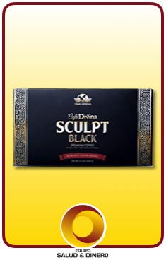 Sculpt Black - Café negro con hongo ganoderma - Vida Divina