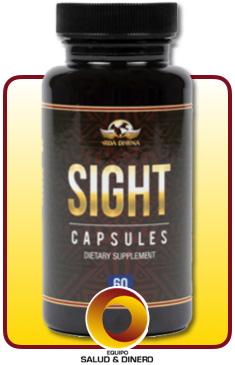 Sight - Suplemento para ayudar a mejorar la vista - Vida Divina