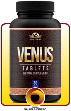 Venus - Suplemento para mujeres para ayudar a regular los ciclos hormonales y de menstruación - Vida Divina
