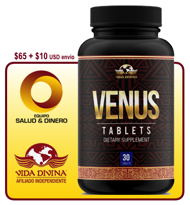 Venus - Suplemento para mujeres que ayuda a regular sus ciclos hormonales y menstruales - Vida Divina