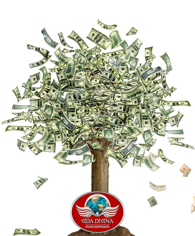 Arbol de dinero de Vida Divina
