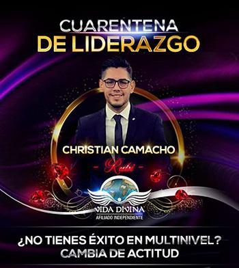 Cuarentena de Liderazgo - Día 37 - Cristian Camacho - Vida Divina
