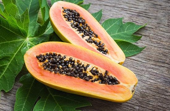 Hojas de Papaya - Ingrediente de Té Divina - Vida Divina