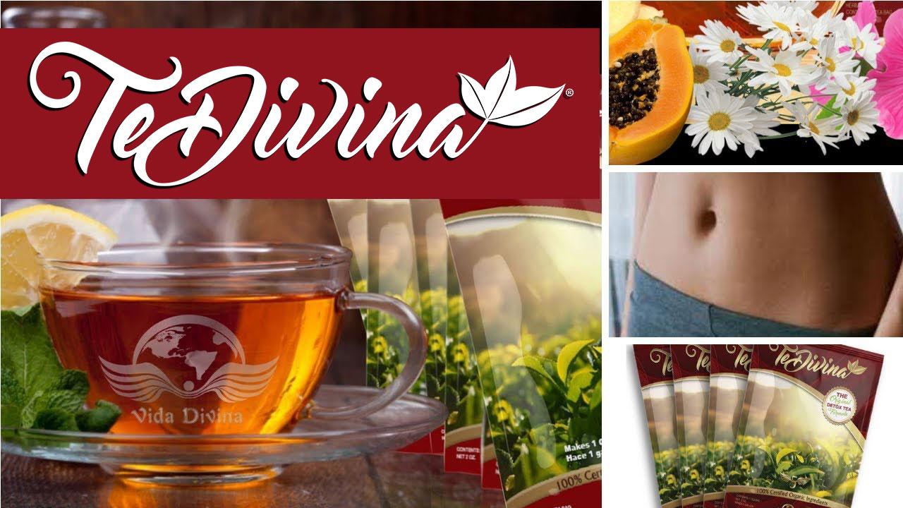 Té Divina - un té desintoxicante hecho de 12 ingredientes - Vida Divina