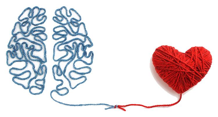 El cerebro y corazon - Cuidando la salud mental durante la cuarentena de covid-19