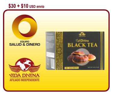 Black Tea - Té Negro - Vida Divina