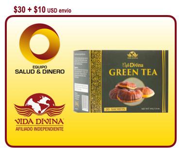 Green Tea - Té Verde - Vida Divina