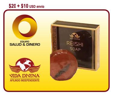 Reishi Soap - jabón para la cara y el cuidado de la piel con Ganoderma
